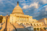 US Capitol at sunset — Stock Photo