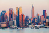 Manhattan Skyline — 图库照片