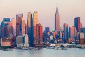 Skyline di manhattan — Foto Stock