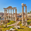 Roman ruins in Rome, Forum — Stock Photo #11708680