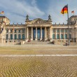Reichstag in Berlin — Stock Photo