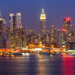 Manhattan at night — Stock Photo #11787210