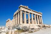 Partenón en la acrópolis, atenas — Foto de Stock