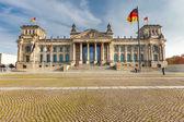 Reichstag en berlín — Foto de Stock