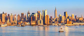 Panoramic view of Manhattan — Stock Photo