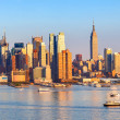 Stock Photo: Manhattan Skyline
