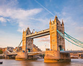 Tower Bridge at sunset — Foto de Stock