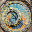 Stock Photo: Astronomical clock on Town hall, Prague