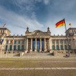 Reichstag in Berlin - Stock Photo