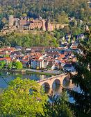 Heidelberg at spring — Stock Photo