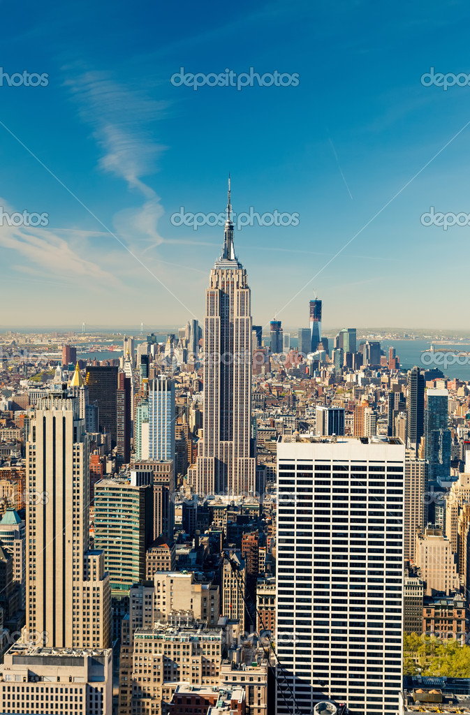 View on Manhattan, New York — Stock Photo #12148776