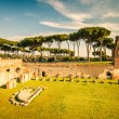 Ruins of Stadium Domitanus, Rome — Stock Photo