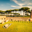 Ruins of Stadium Domitanus, Rome — Stock Photo #12330983