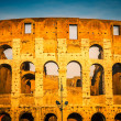 Colosseum at sunset — Stock Photo #12331054