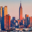 Manhattan at sunset — Stock Photo #12331101