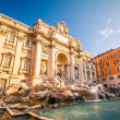 Fountain di Trevi - 图库照片