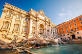 Fountain di Trevi — 图库照片