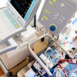 Stock Photo: Extracorporeal membrane oxygenation (ECMO) withiIntra-aortic bal