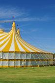 Circo con bandera australiana — Foto de Stock