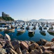 Lerici typical village, Castle and port in Liguria — Stock Photo