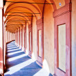 San Luca arcade in Bologna, Italy — Stock Photo