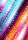 Abstract vector shiny with shiny lines — Vetor de Stock