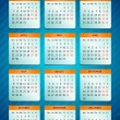 Vector calendar 2013 - Imagen vectorial