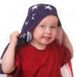 Child with USA flag — Stock Photo #11843864