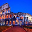 Royalty-Free Stock Photo: Colosseum rome italy night