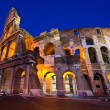 Colosseum rome italy night — Stock Photo #11145579