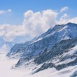 Aletsch alps glacier Switzerland — Stock Photo #11145667
