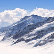 Aletsch alps glacier Switzerland - Photo