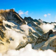 Stock Photo: Mist at Jungfrau, Switzerland