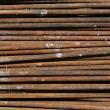 Steel rod Texture — Stock Photo