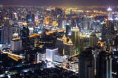 Bangkok Skyline night — Foto de Stock