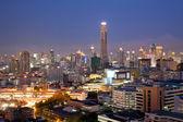 Skylines aérea bangkok — Foto Stock