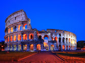 Colosseum rome italy night — Stock Photo