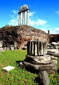 Ruin of Roman Forum, Rome Italy — Stock Photo