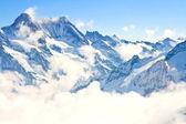 Jungfrau-regio in de zwitserse alpen, zwitserland — Stockfoto