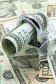 现金储蓄保险概念 — 图库照片