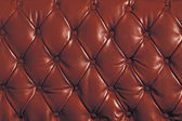 Red genuine leather — Stock Photo