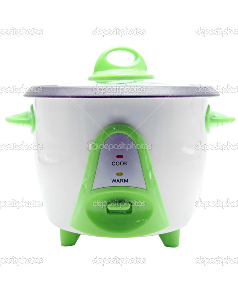 Electronic rice cooker  Stockfoto #11145895