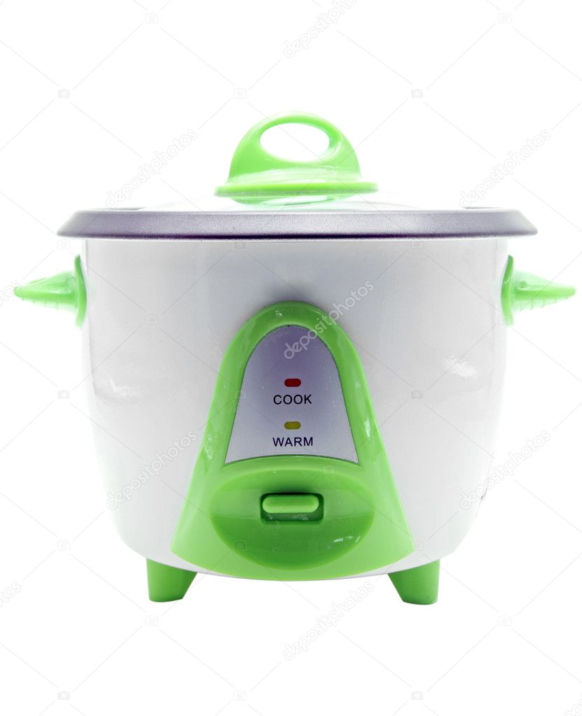Electronic rice cooker  Foto de Stock   #11145895