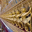 Golden Garuda at grand palace Thailand - Stockfoto