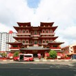 BuddhTooth Relic Temple in ChinTown Singapore — Stock Photo #11162678