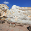 Stock Photo: Giant reclining buddhstatue