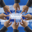 Performance Audit Team — Stock Photo