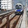 Stock Photo: Mosern sky train