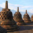 borobudur temple stupa — Stock Photo