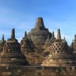 Borobudur Temple Stupa — Stock Photo